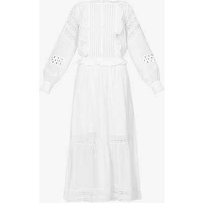 Ritual Broderie-anglaise cotton maxi dress