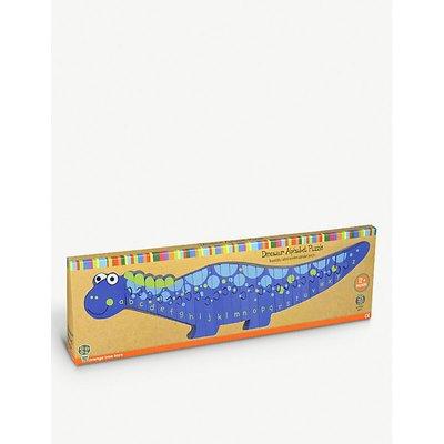 Alphabet Dinosaur wooden puzzle