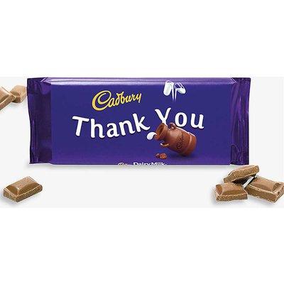 Thank You Dairy Milk chocolate bar 110g