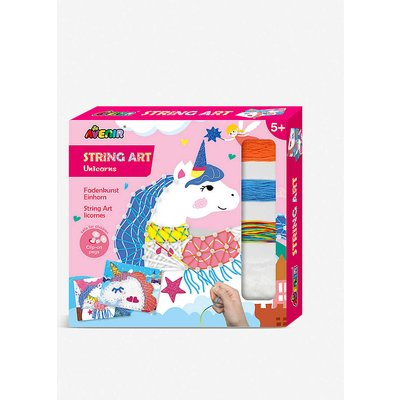 String Art Unicorns activity pack