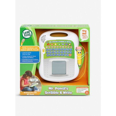 Mr. Pencil's Scribble & Write learning toy