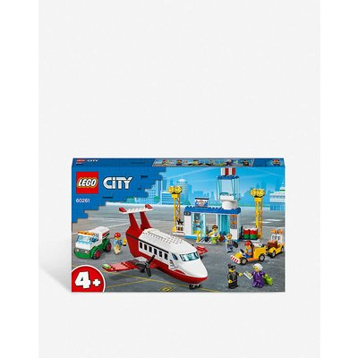 LEGO® City 60261 Central Airport set