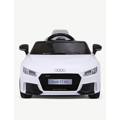 Audi TT RS Licenced Battery Powered Kids Electric Ride On Toy Car