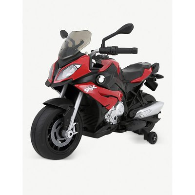 BMW S1000XR Licenced 12V 7A Battery Powered Kids Electric Ride On Toy Motorcycle Road Bike