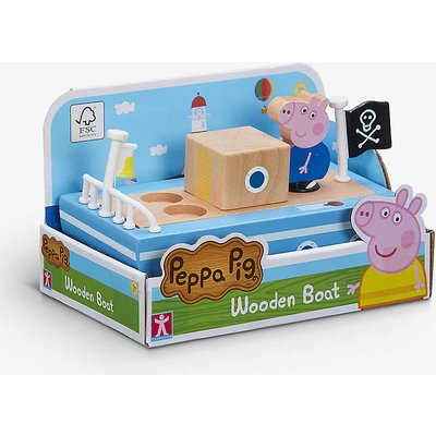 Wooden Boat play set