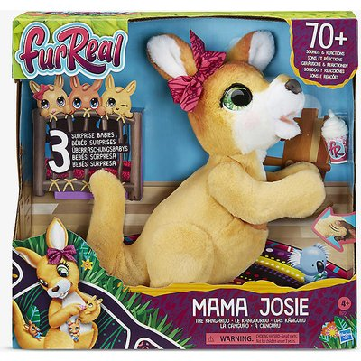 Mama Josie Kangaroo interactive pet toy 39.37cm
