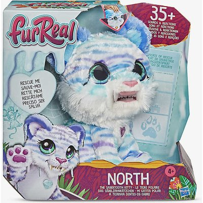 North the Sabertooth Kitty toy pet