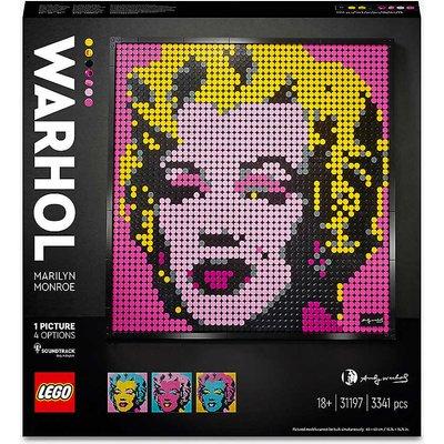 LEGO® Art 31197 Andy Warhol's Marilyn Monroe set