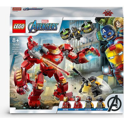 LEGO® Marvel Avengers 76164 Iron Man Hulkbuster versus A.I.M. Agent playset