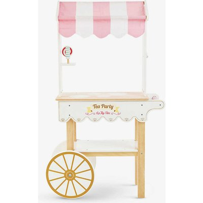 Tea & Treats wooden trolley set