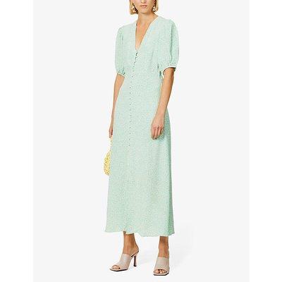 Staci floral-print woven maxi dress
