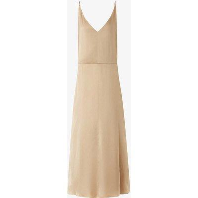 Delphia silk midi dress