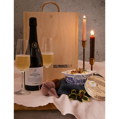 Baked Camembert Prosecco gift box