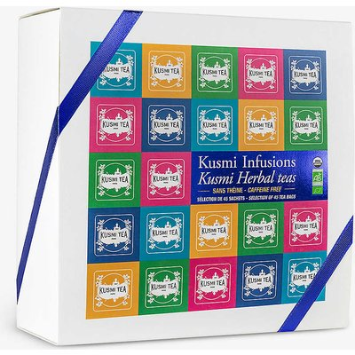 Kusmi organic herbal tea gift box 92.5g