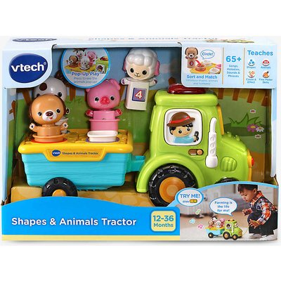 Shapes and Animal Tractor set