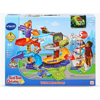 Toot-toot Twist & Race Tower set