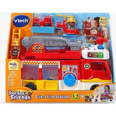 Toot Toot Friends two-in-one fire station toy