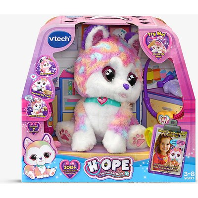 Hope the Rainbow Husky toy