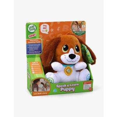 Speak & Learn Puppy interactive toy 28cm