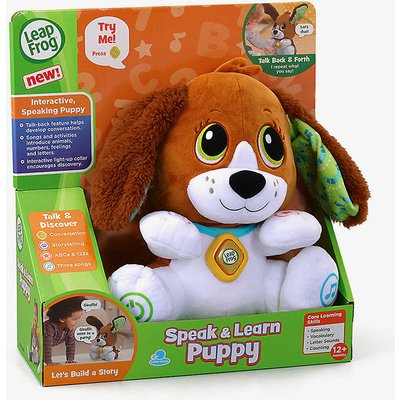 Speak & Learn Puppy interactive toy 28cm