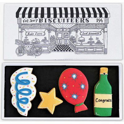 Congratulations letterbox biscuits 150g