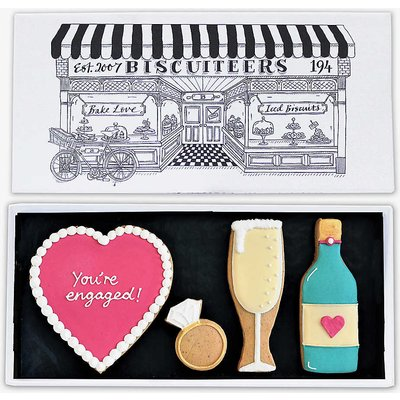 Engagement letterbox biscuits 150g