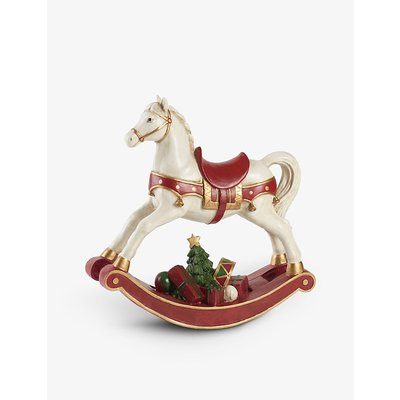 The Winter Collage Accessories rocking horse 32.8cm
