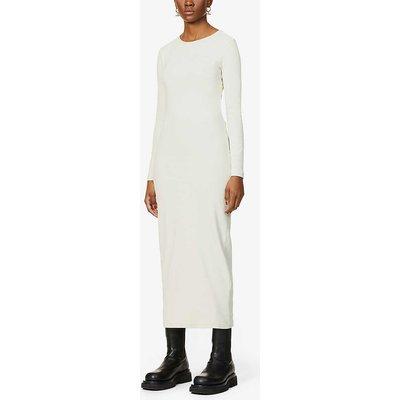 Sloan organic cotton-blend midi dress