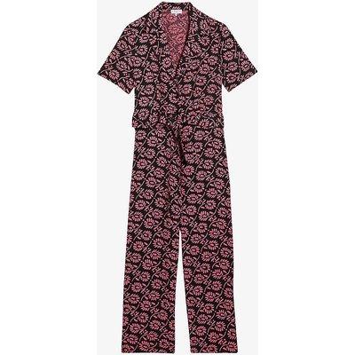 Janebis floral-print woven jumpsuit