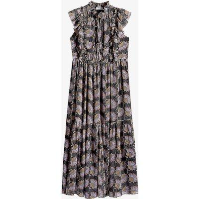 Recava floral-print crepe midi dress