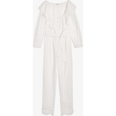 Jasmineter broderie anglaise organic-cotton jumpsuit