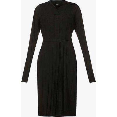 Fine Merinos Oversized wool-blend midi dress