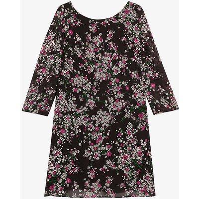 Rififi floral-print cotton midi dress