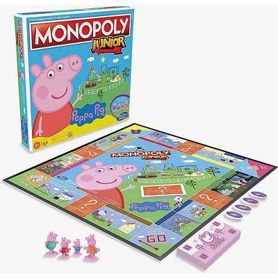 Monopoly Junior Peppa Pig Edition board game