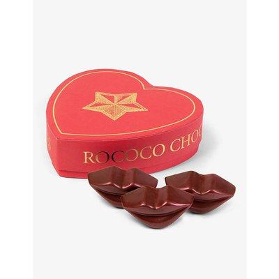 Salted caramel and cherry chocolate lips box 125g
