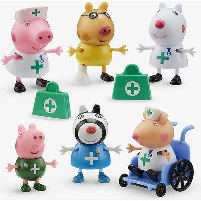 Peppa Pig doctors and nurses figure set