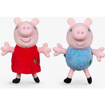 Peppa Pig recycled-fibre assorted soft toys