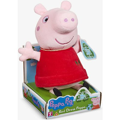 Peppa Pig recycled-fibre soft toy