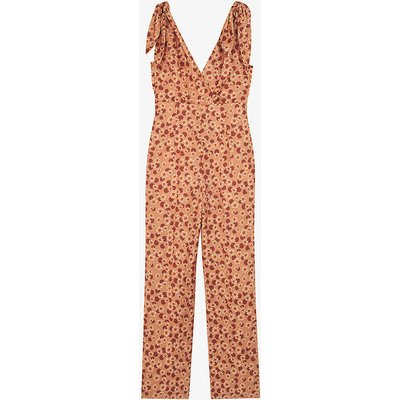 Ellande floral-print crepe jumpsuit