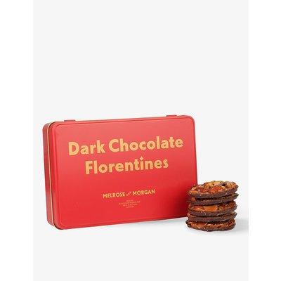 Dark chocolate Florentine tin 250g