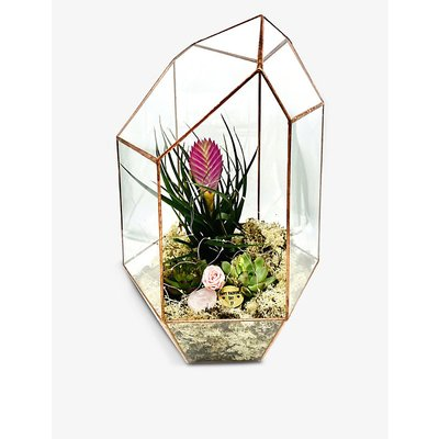 Valentine's Supersize Gem copper terrarium