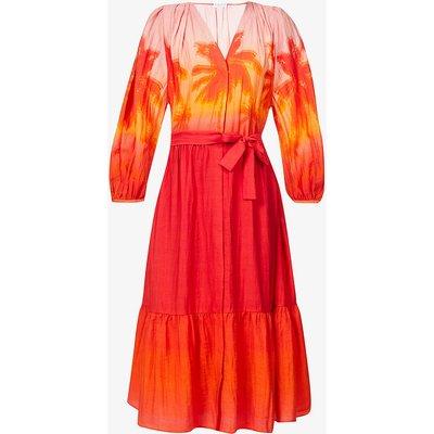 Rigolote gradients woven midi dress