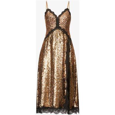 Apogeo sequin-embellished midi dress