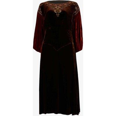 Pre-Loved 1920s velvet midi dress
