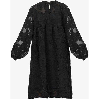 Mynthe oversized woven midi dress