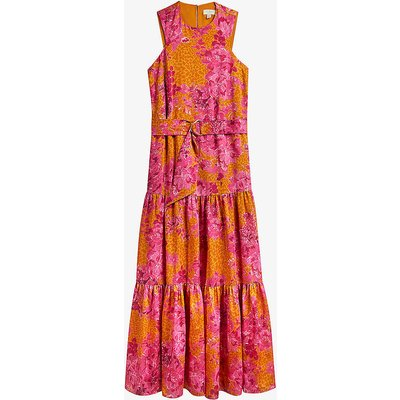 Bambia floral-print crepe maxi dress