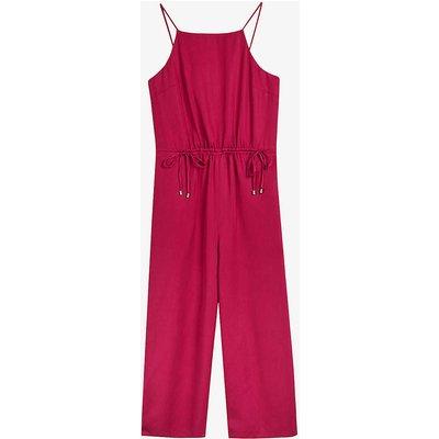 Melnie drawstring-waist woven jumpsuit