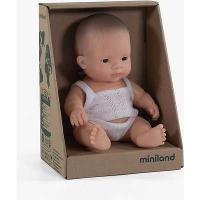 Educational male baby doll 21cm