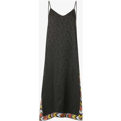Palm Angels x Missoni monogrammed crepe maxi dress