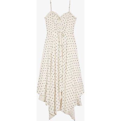 Liyylaa polka-dot woven camisole dress